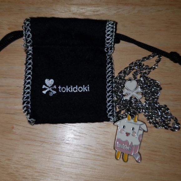 tokidoki Jewelry - Retired tokidoki Strawberry Latte Necklace